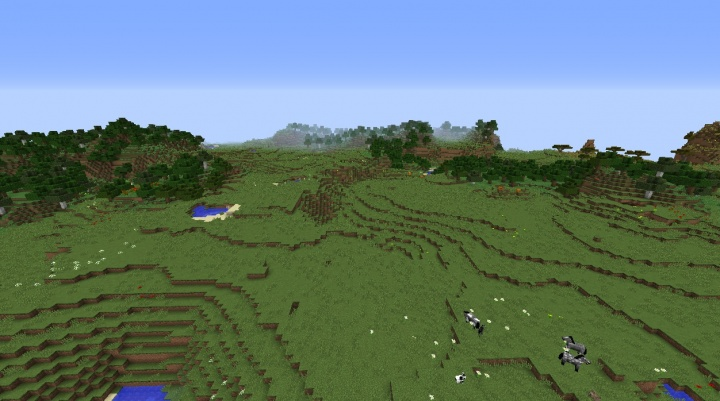 Minecraft plains seeds 1.8.3 with desert nearby and plenty of forest and flowers.jpg