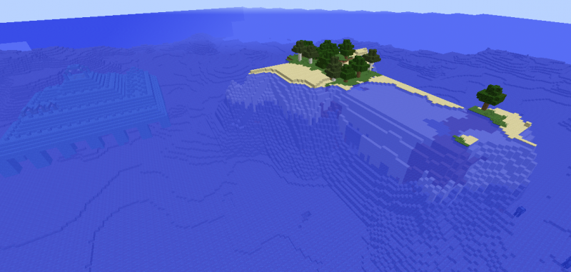 File:Minecraft survival island ocean monument seed.png