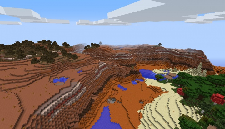 Minecraft mesa seed 1.9 by roofed forest.jpg