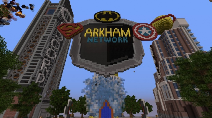 Minecraft Arkham Network server spawn.jpg