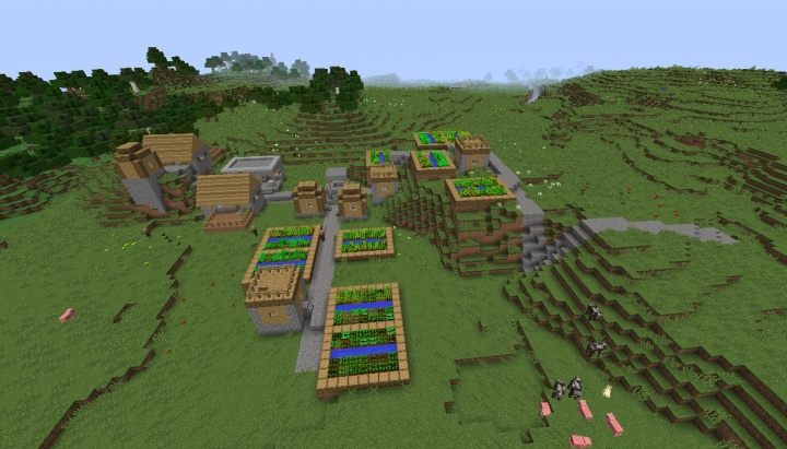 how to make a minecraft city seed