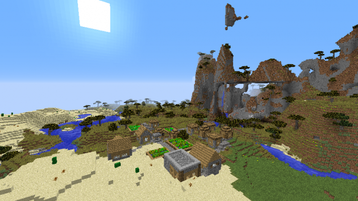 Triple Village Seed Minecraft 1.8.2.png