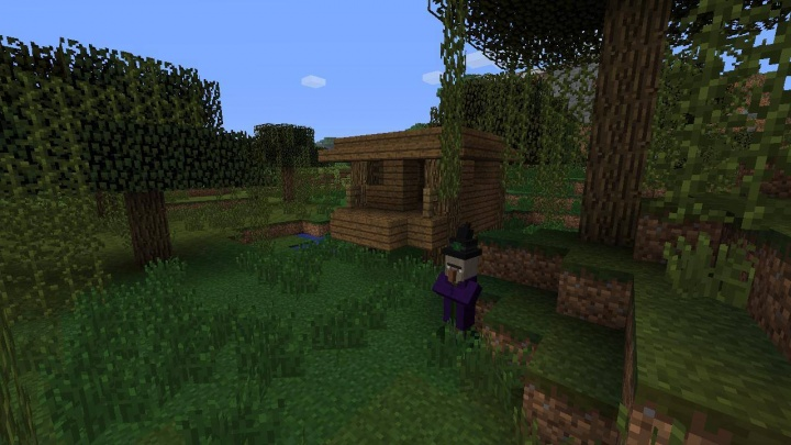 Minecraft Xbox 360 witch hut seed by start.jpg
