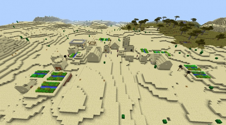 Minecraft 1.9 mega village seed with desert temple built in.jpg