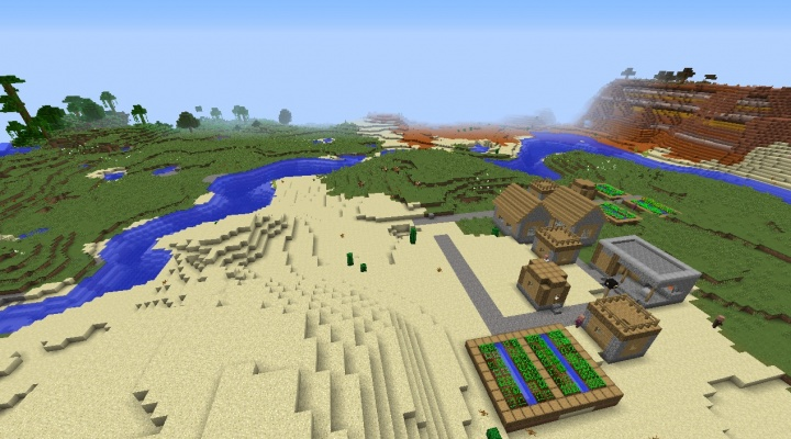 Minecraft horse taming seed 1.9 by mesa and jungle.jpg