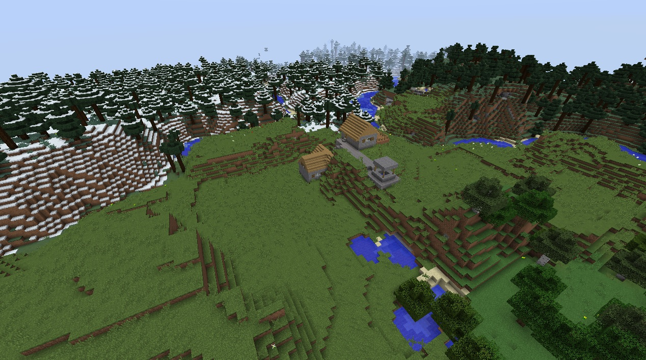 Need a good building survival world! 100.100 or 100.10.1000 - Seeds