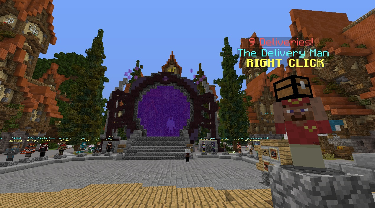 File:Hypixel Network Minecraft multiplayer server with mini games
