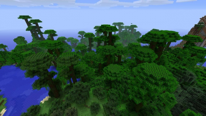 Minecraft PS4 jungle seed 1 39 at spawn - Minecraft seeds wiki