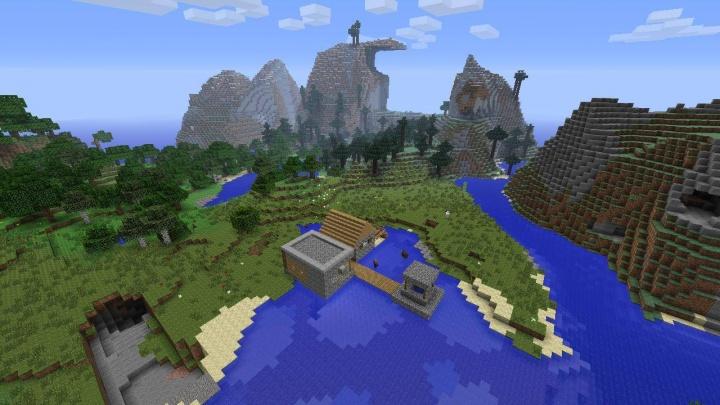 Minecraft PS4 Seeds - Minecraft seeds wiki