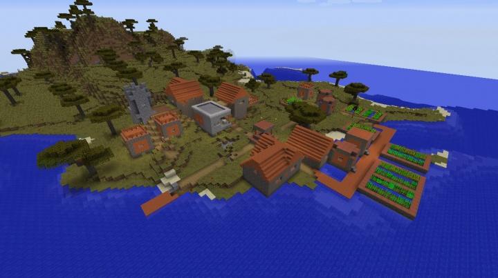 Minecraft Village Seeds 1112 Minecraft Seeds Wiki
