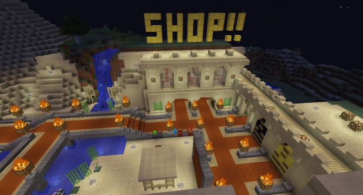 minecraft creative and survival servers