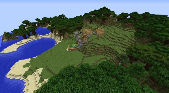 Minecraft Roofed Forest Seeds Minecraft Seeds Wiki
