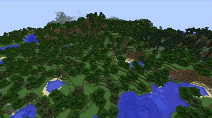 Minecraft Forest Seeds - Minecraft seeds wiki