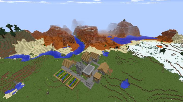 Minecraft Mesa Seeds - Minecraft seeds wiki